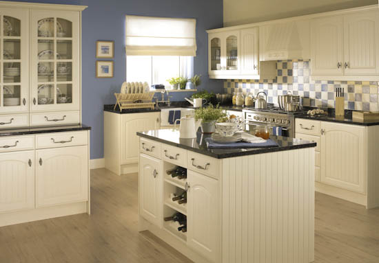 Sherwood Pale Cream Kitchen