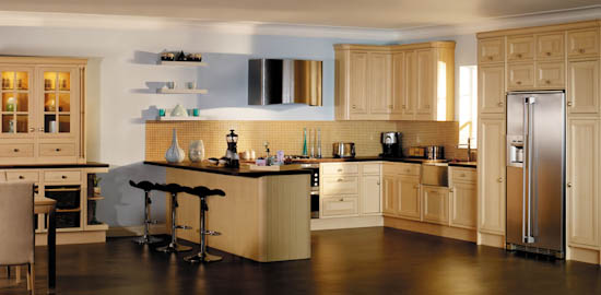 We Also Offer An Exciting Range Of Full New Kitchens With A Comprehensive  Design, Planning And Fitting Service.